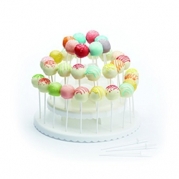 """Kitchen Craft, Espositore per cupcakes e dolci """"Sweetly Does It"""", 30 cm, Bianco (weiß) - 1"""
