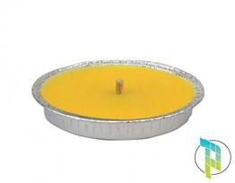 Palucart Candela citronella Giardino citronella Alluminio 16 cm Set da 30 Pezzi Giardinaggio antizanzare Feste ed Eventi - 1
