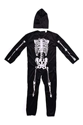 Folat-Costume da scheletro Fur Kinder - 3
