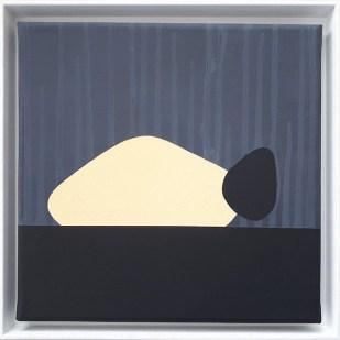 frame 4#2, 2019 - acrilico su tela - 25 x 25 cm