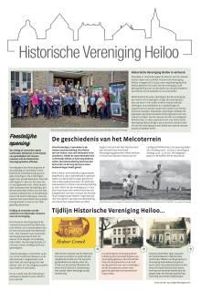 Historische Vereniging Heiloo (special in de Uitkijkpost van 14 november 2018)