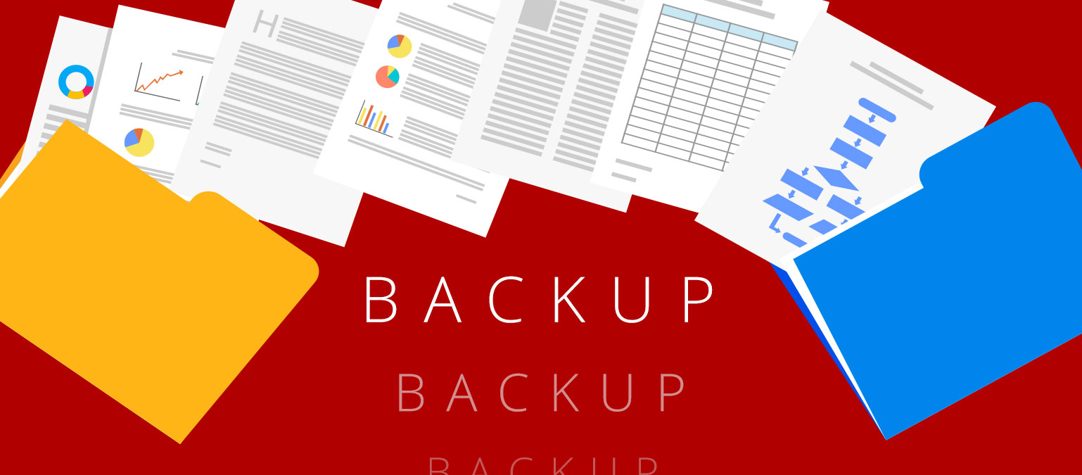 Backup, Backup, Backup!