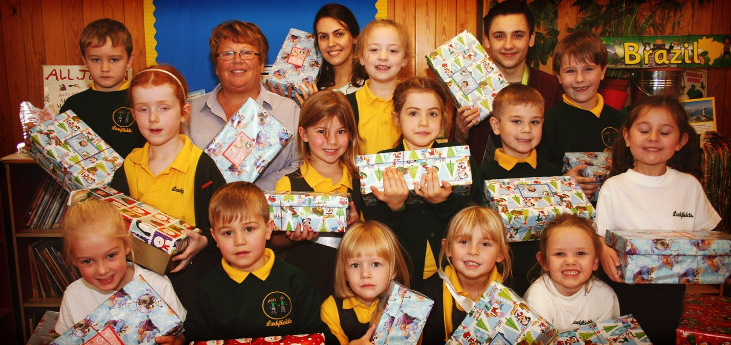 Fifteen Get Festive Helping Operation Christmas Child