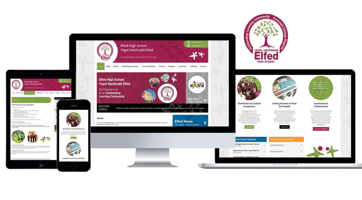 Regeneration For Elfed High School's Website