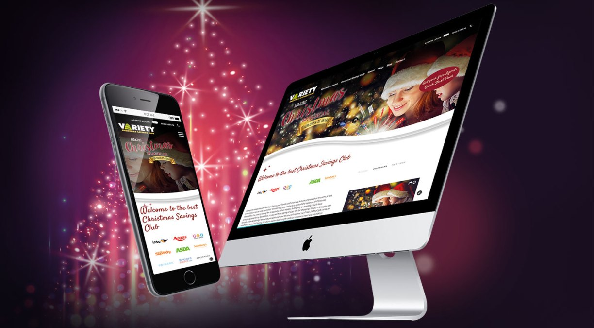 Variety Christmas Club Site Launch