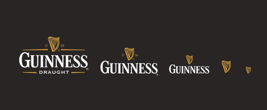 Example of responsive logo
