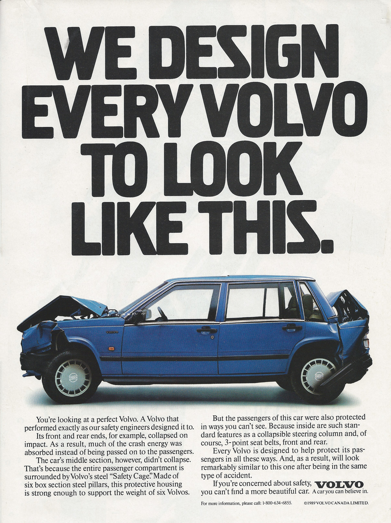 Volvo Advert for Caregiver Archetype
