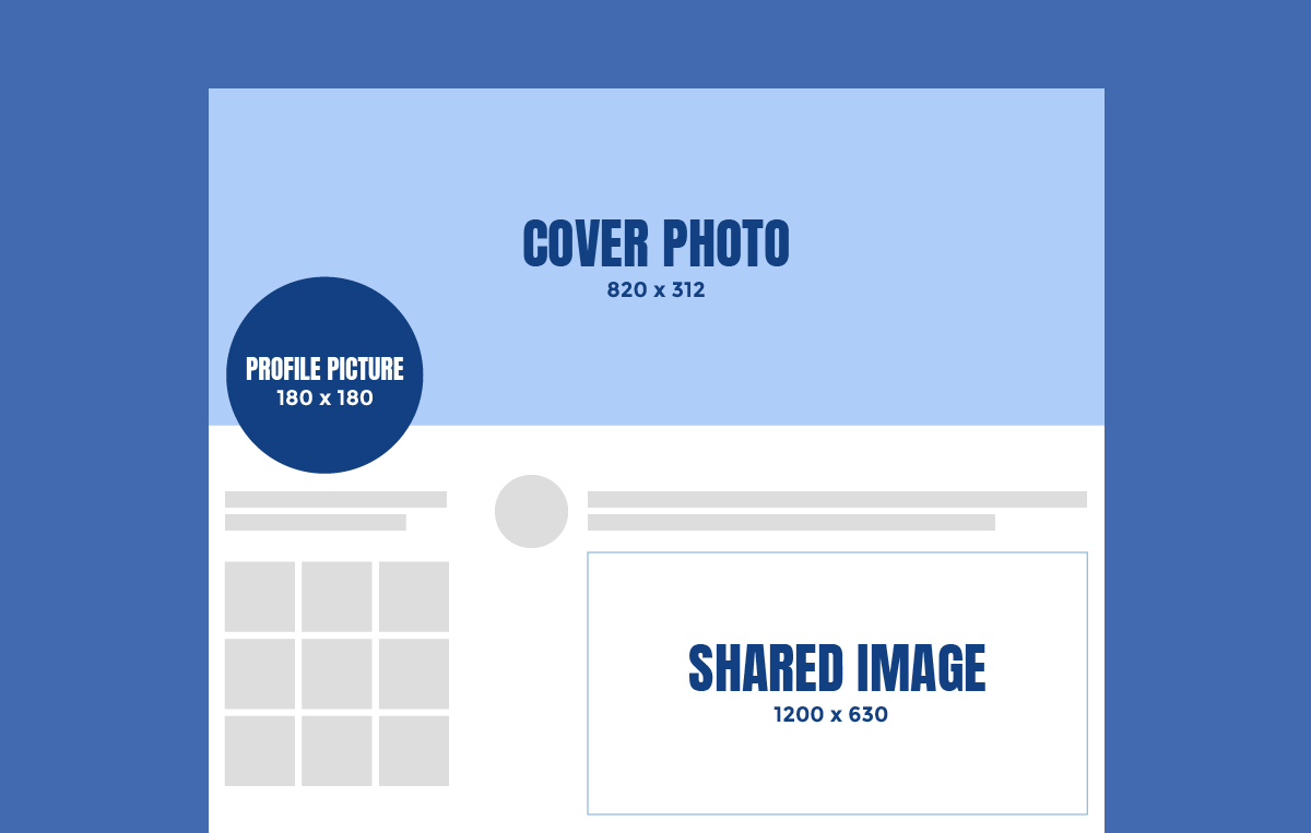 Facebook Social Image Sizes 2019