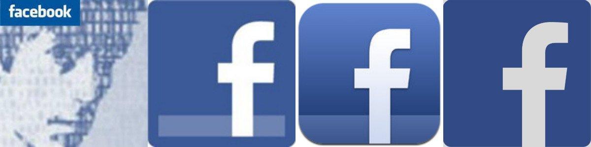 Old Facebook Logos