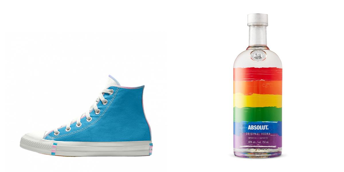 Absolute Vodka Pride Advertising