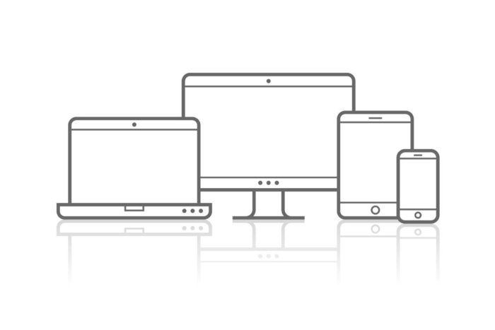 Responsive Design for Website Performance Devices Example