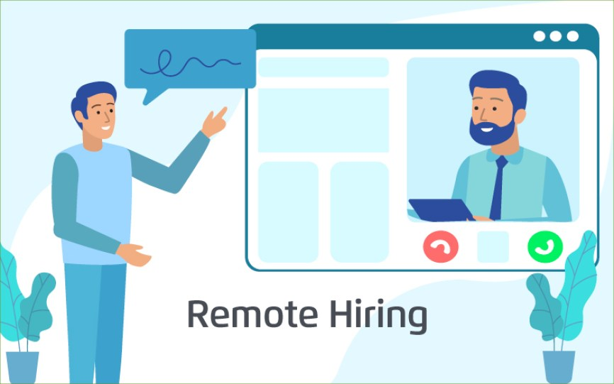 Which businesses could benefit from assistance with remote hiring?