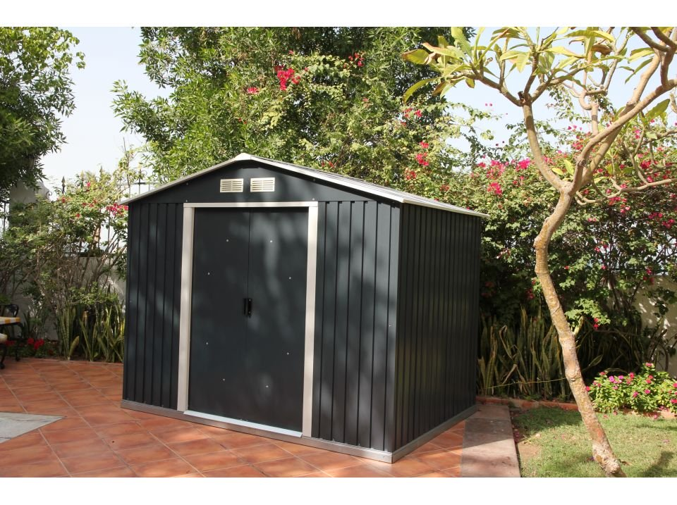 abri de jardin metal duramax 4 75 m2