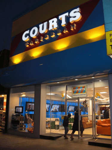 Courts Jamaica Appliance Store