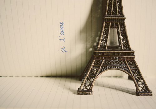 eiffel, eiffel tower, love, paper, paris
