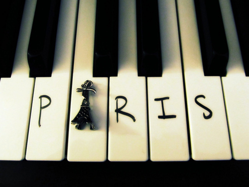 beautiful, paris, photography, piano, play