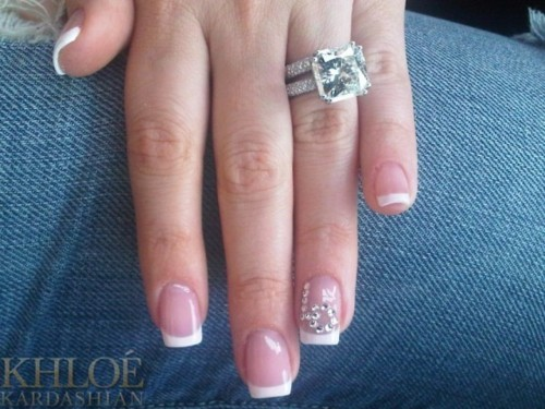 Diamond Engagement Ring Nails Ring Image 351346 On