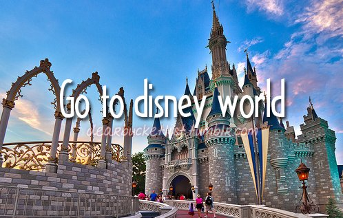 before i die, bucket list, castle, cinderella, dearbucketlist