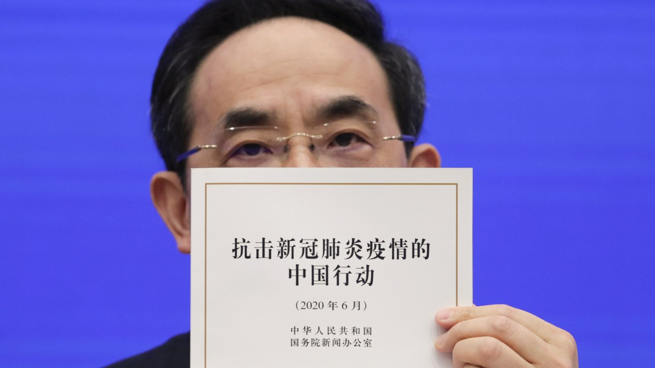 China defends its Coronavirus efforts in an 84 page report, says they 'wasted no time' in sharing information 9