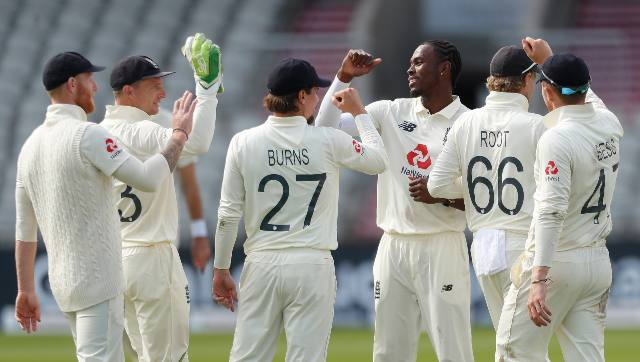Jofra Archer picked three wickets in the first innings, along with Stuart Broaed with the same number of wickets. England pacers were very instrumental throughout the Test. AP