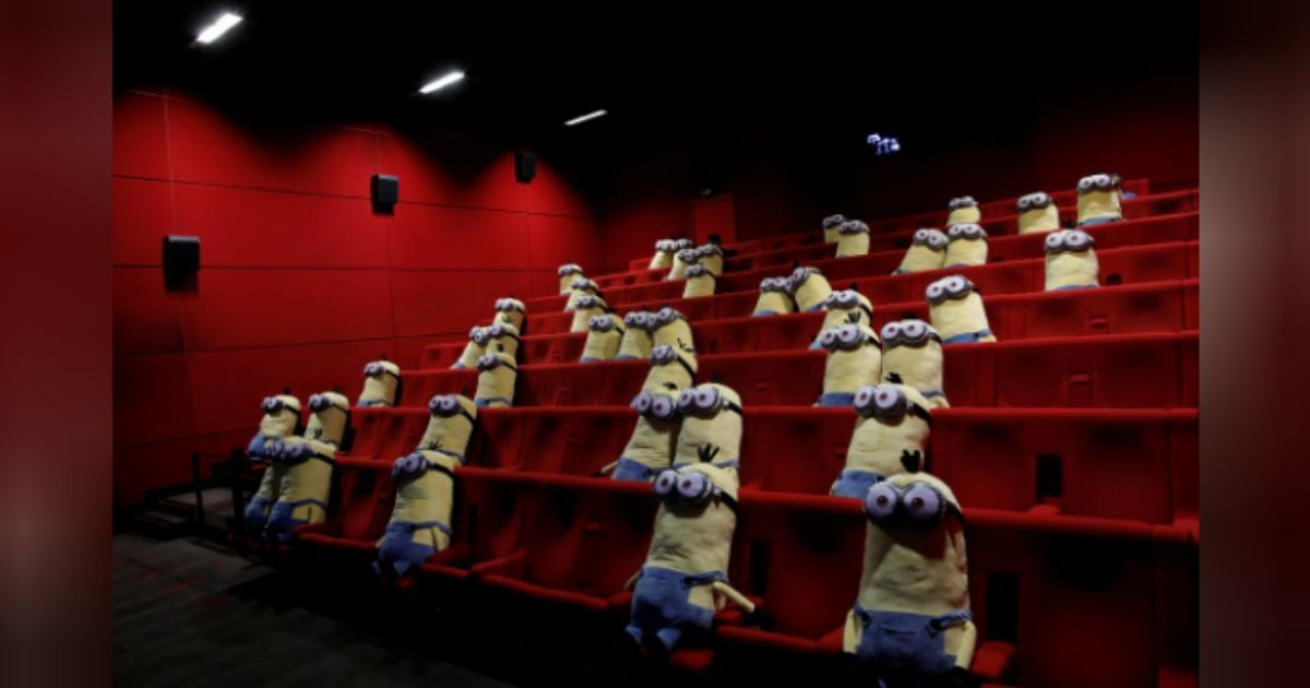 Coronavirus Outbreak: Minions stuffed toys greet French movie-goers to ensure social distancing in theatres 7