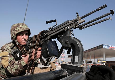Afghan National Army / AP