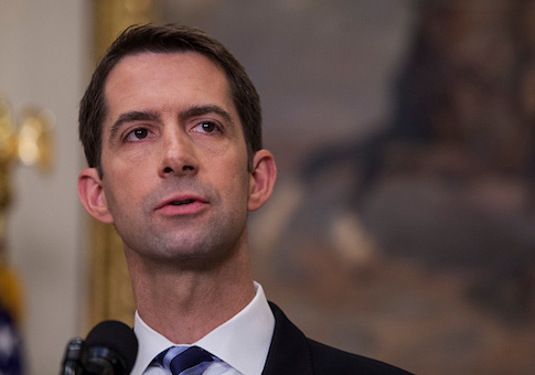 Tom Cotton: Trump Should Not Recertify Iran Nuclear Deal ...