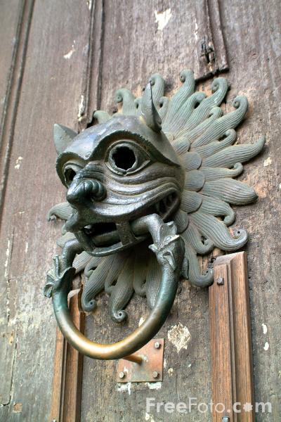 Durham Sanctuary knocker