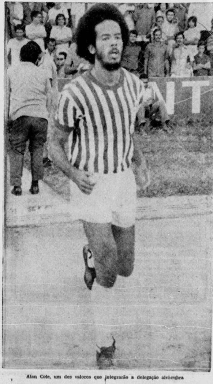Allan Cole antes - Arquivo/Diario de Pernambuco