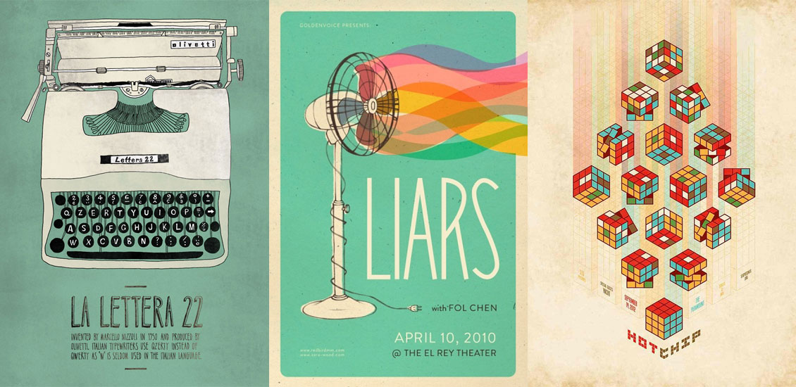 inspiring poster designs selected by