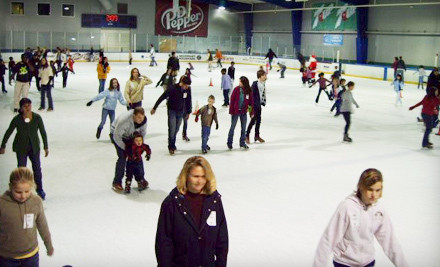 Ice Skating Dr. Pepper Groupon