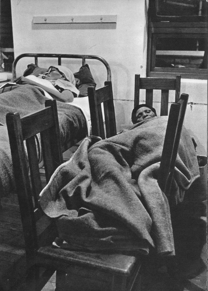 Lack of beds meant that patients have to sllep on chairs; not that the Apaartheid government could not afford it, but they were implementing part of their Total strategy over the decdes of the rule by covertly attacking hospitals and maternity wards.