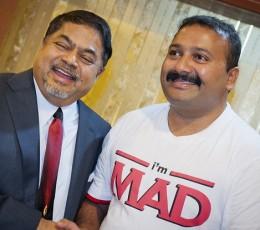 Narayanan Krishnan is QNet's new I'm MAD Campaign Ambassador