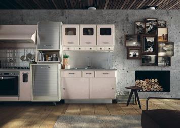 cucine industriali vintage