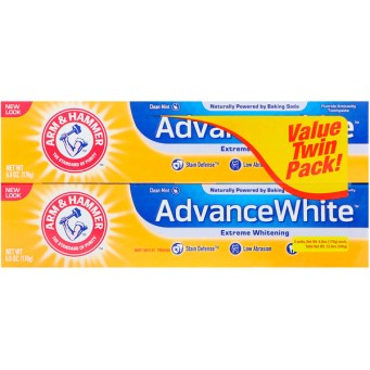 https://jp.iherb.com/pr/Arm-Hammer-AdvanceWhite-Extreme-Whitening-Toothpaste-Clean-Mint-Twin-Pack-6-0-oz-170-g-Each/83965?rcode=CUN918