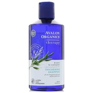 Avalon Organics, شامبو لكثافة الشعر، بايوتين ب- علاج مركب، 14 أوقية سائلة (414 مل)