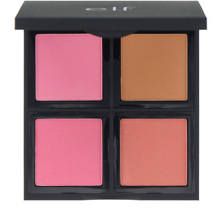 E.L.F. Cosmetics, Blush Palette, Light, Powder, 0.48 oz (13.6 g)