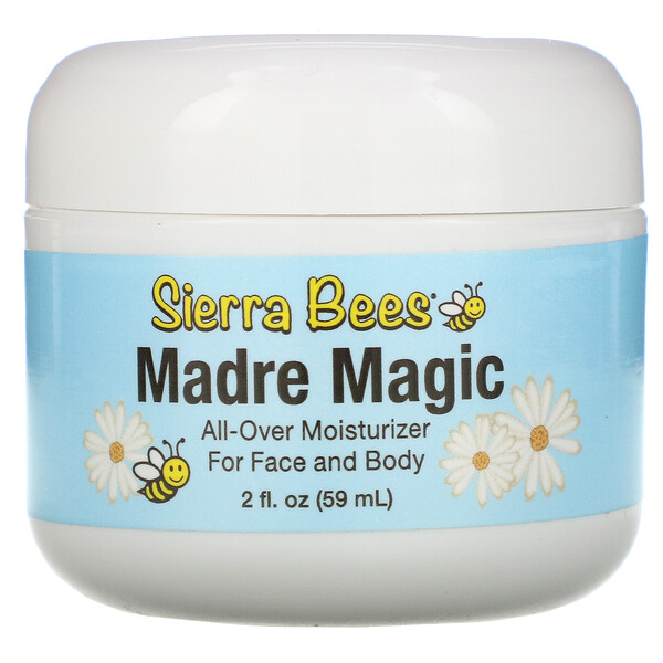Sierra Bees, Madre Magic(マドレマジック)、ローヤルゼリー&プロポリス多目的バーム、59ml(2液量オンス)