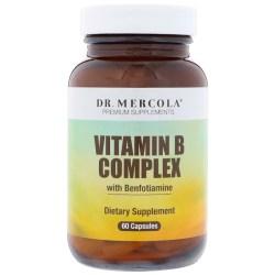 Dr. Mercola, ベンフォチアミン配合ビタミンB 複合体、60カプセル