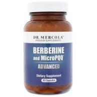 Dr. Mercola, Berbérine et MicroPQQ Avancé, 30 Gélules