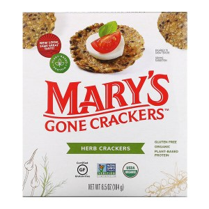 Mary's Gone Crackers, مقرمشات بالأعشاب، 6.5 أونصة (184 جم)