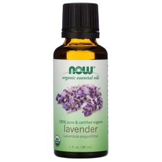 Now Foods, Organic Essential Oils, Lavender, 1 fl oz (30 ml) - iHerb