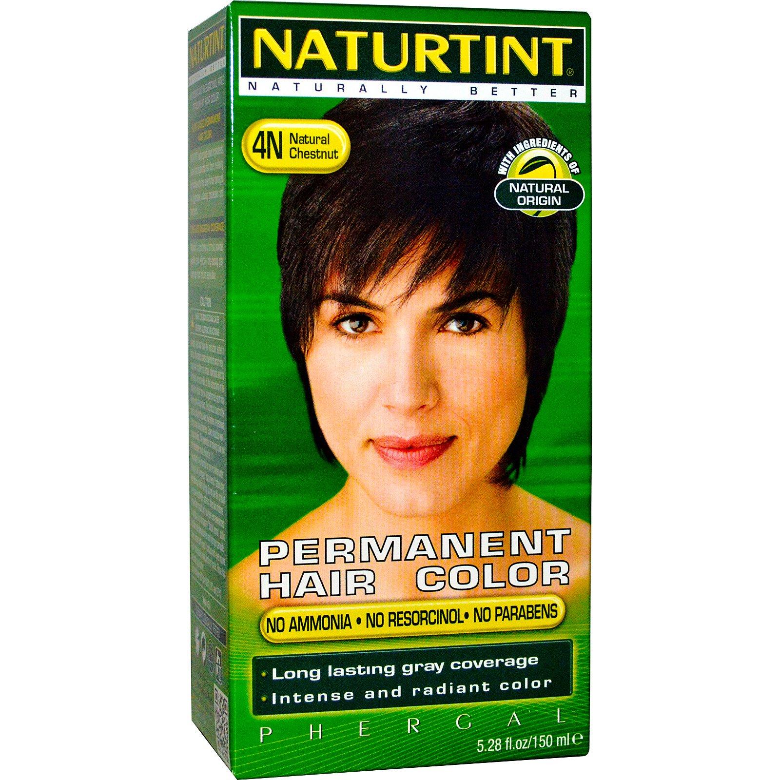 Naturtint Permanent Hair Color 4n Natural Chestnut 5 28 Fl Oz 150 Ml