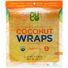 NUCO, Organic Coconut Wraps, Turmeric, 5 Wraps (14 g) Each ...