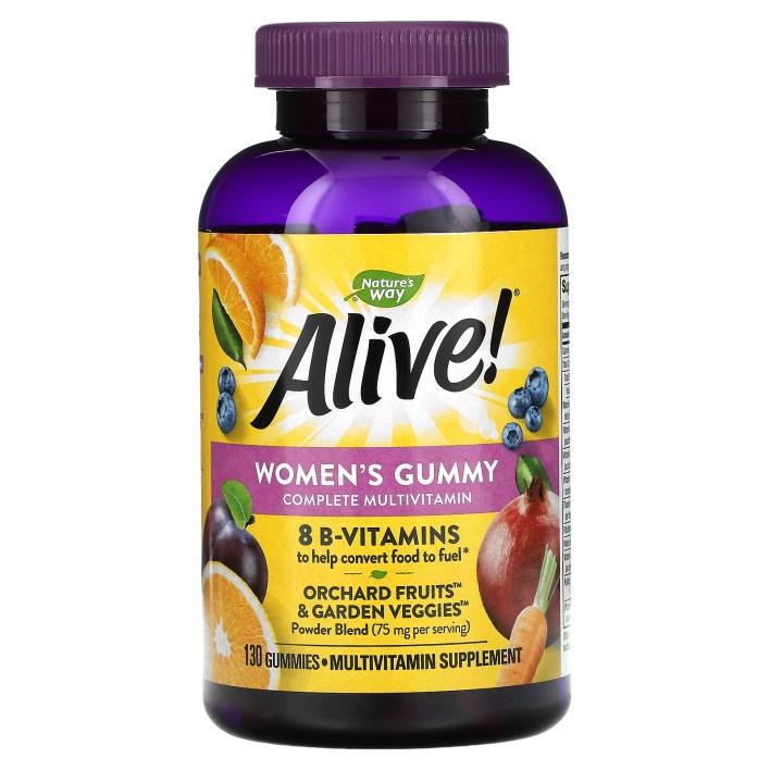 34 - فوائد فيتامين alive للنساء وللرجال وللأطفال