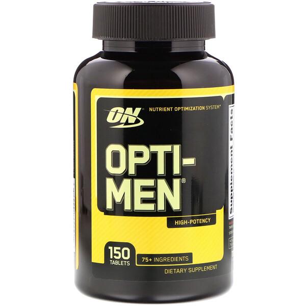 Optimum Nutrition, オプティ-メン®, 150錠