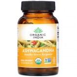 Organic India, Ashwagandha, 90 Vegetarian Caps - iHerb