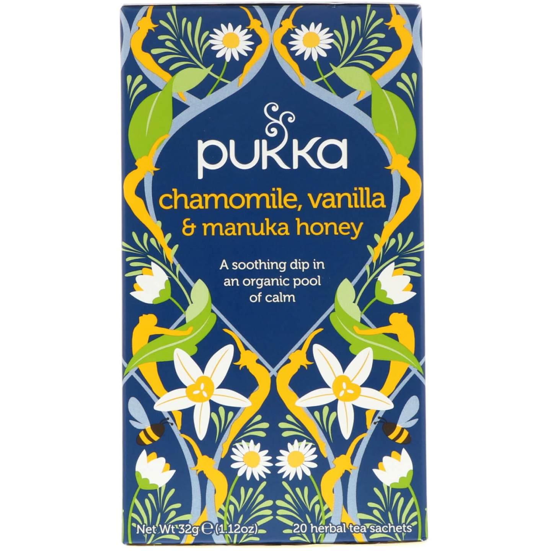 Pukka Chamomile, Vanilla & Manuka Honey Tea