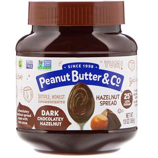 Peanut Butter & Co., معجون البندق، بندق مع الشوكولا الداكنة، 13 أونصة (369 غرام)