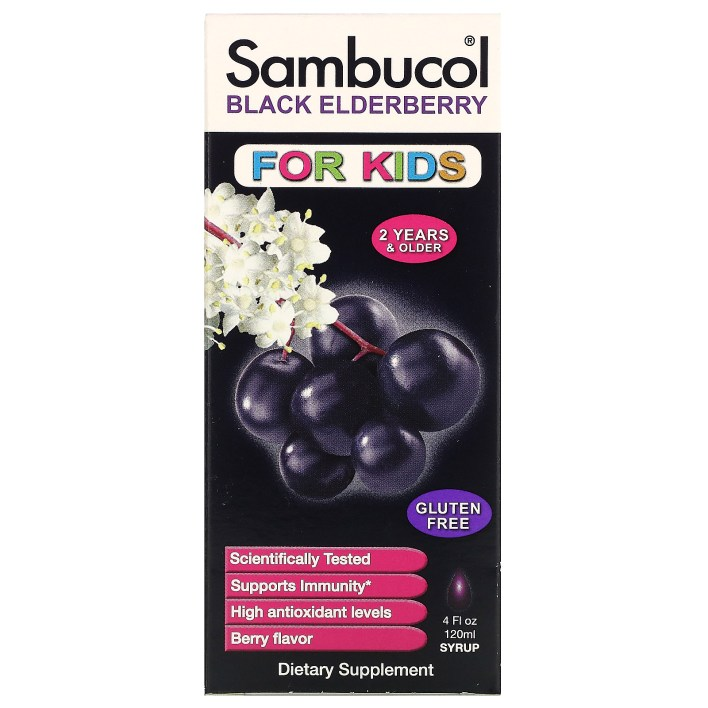 شراب البيلسان للاطفال شراب الخمان الاسود فوائد Black Elderberry